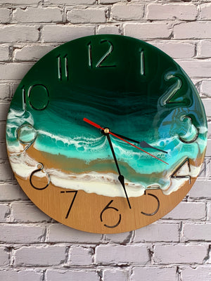Emerald Isle Wall Clock