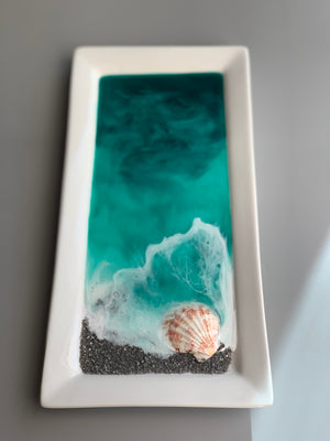 Jewelry/Decorative Dish - Emerald Beach