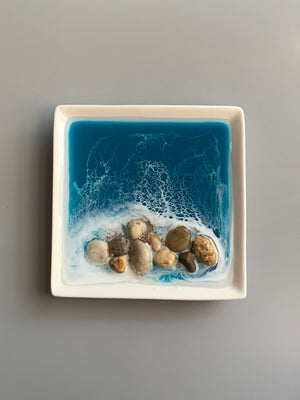Decorative/Ring Dish - Rocks