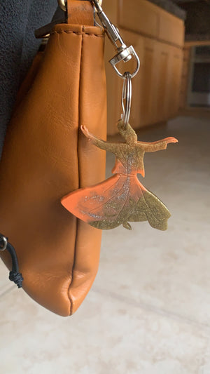 RESIN CHARMS - Whirling Dervish