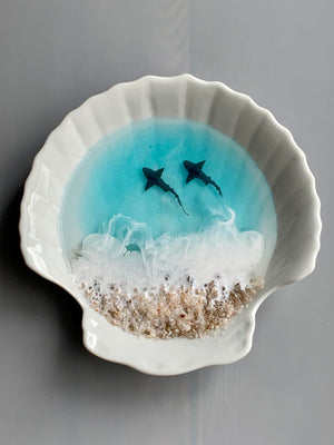 Sharks Shell Ring Dish