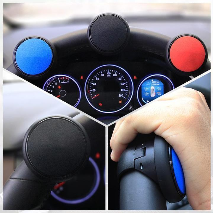 50% Off -Car Steering Wheel Booster Ball-Buy 2 Free Shipping