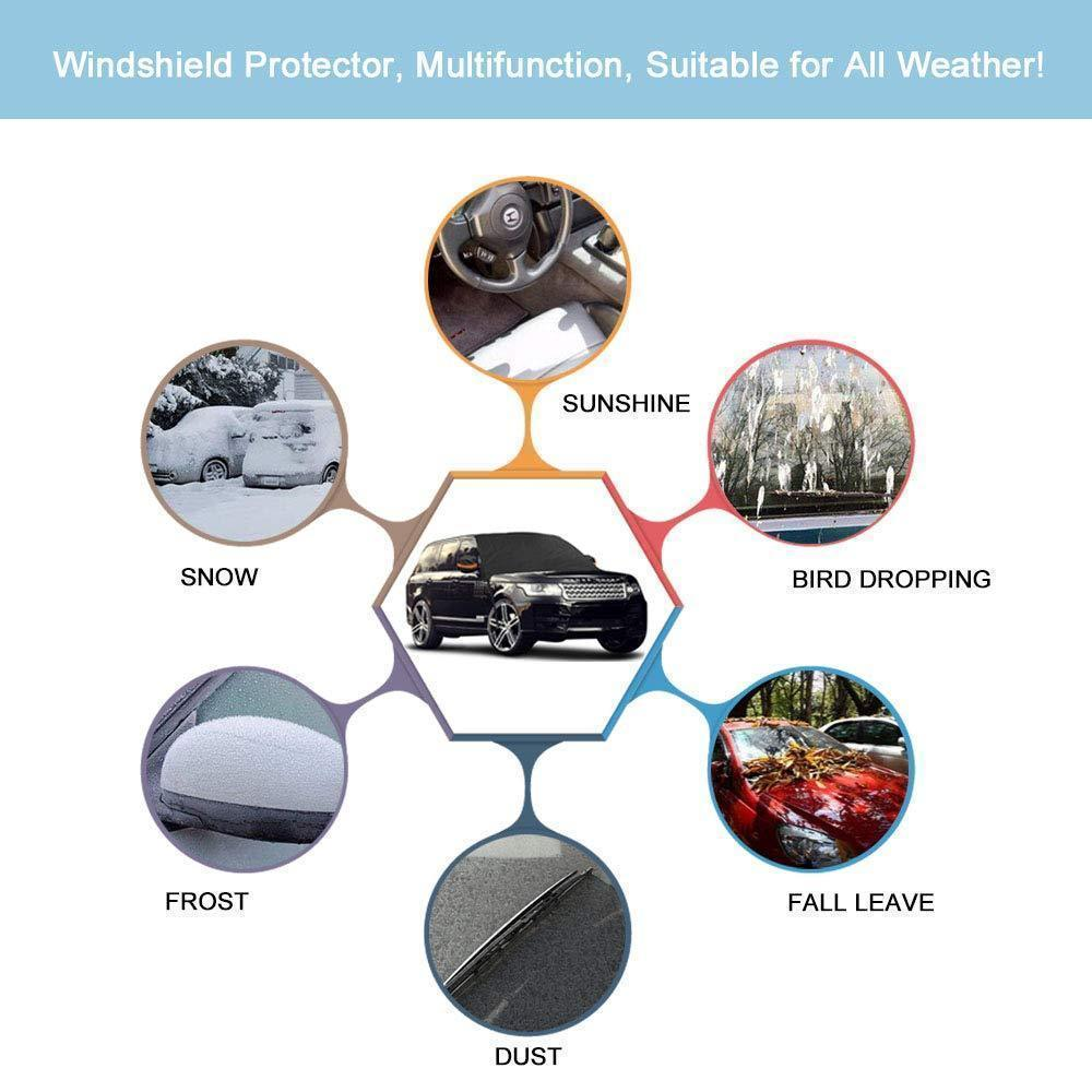 (50% Off Today Only)Premium Windshield Snow Cover Sunshade-Buy 2 free shipping