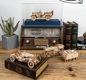 (Hot Sales-50% OFF)Wooden mechanical model puzzle-Buy Two,Free Shipping