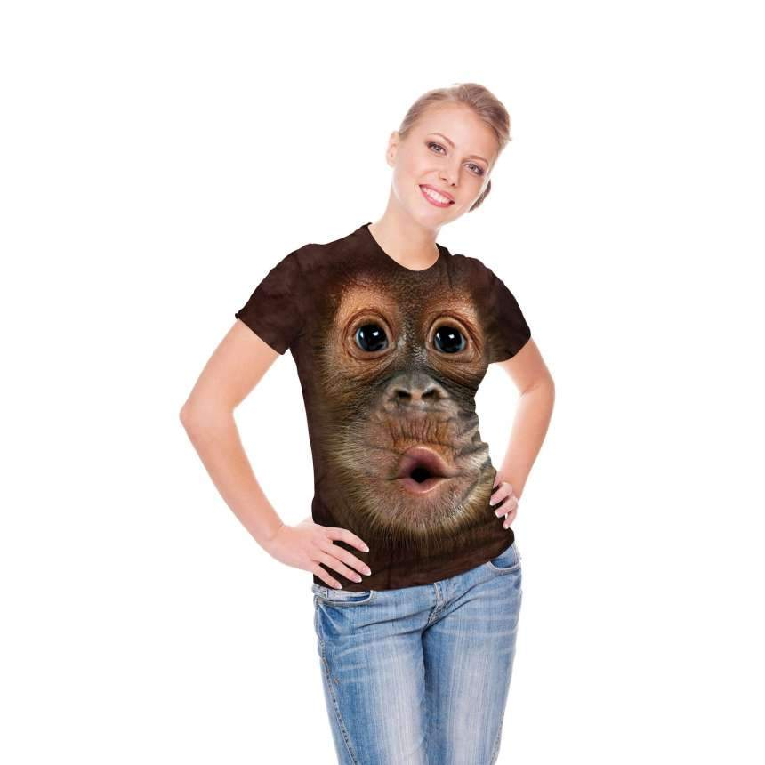 Father's Day Hot Sales-Funny Monkey T-shirt-Buy 2 Free Shipping