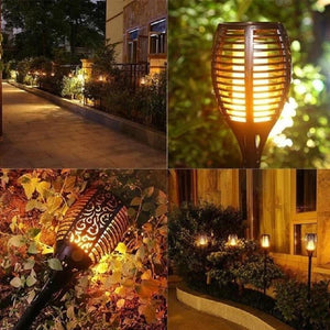 (Holiday Discount 50% OFF)-Waterproof Shelop Solar Torch Light-Buy More Save More