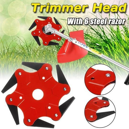 50% OFF-6 Steel Razors Trimmer Head-Buy 2 Free Shipping