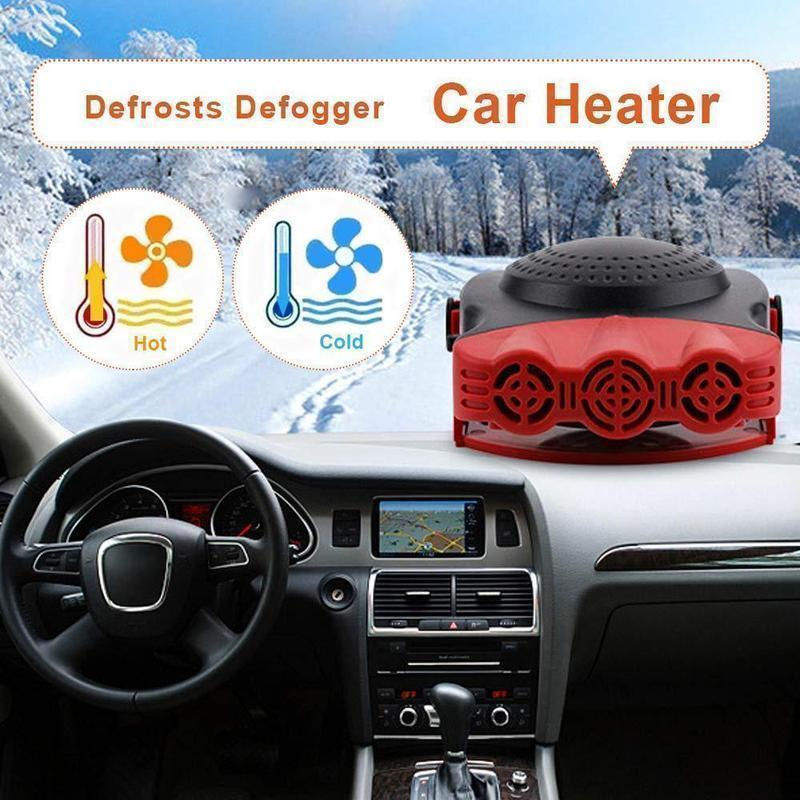 (Hot Sales 50% Off)Portable Car Heater Defrosts Defogger-Buy Two Free Shipping!
