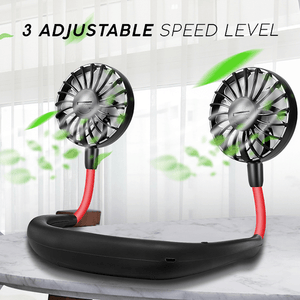 😍Buy 3 Get 1😍2020 New Rechargeable portable neck-strap fan(Last Promotion 50% OFF)