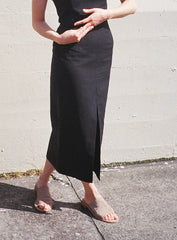 Waltz High Waisted Long Skirt
