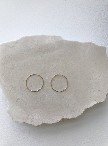 J. Hannah Loop Earring