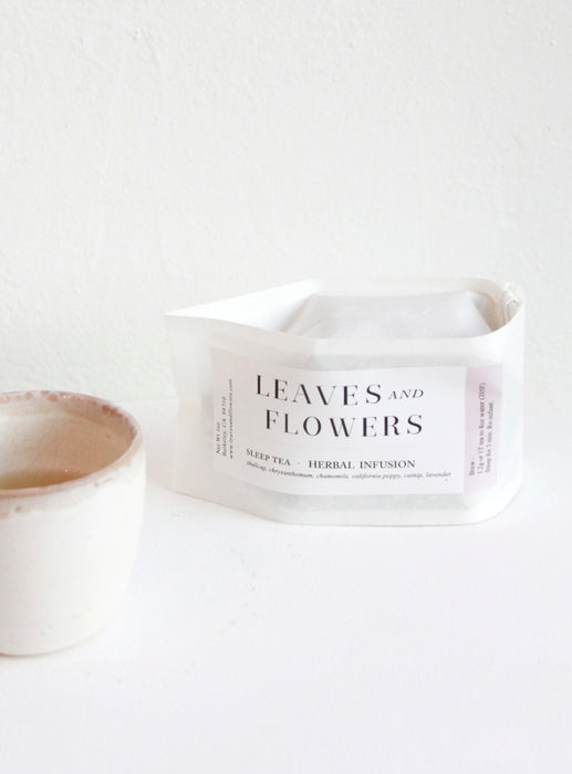 Leaves and Flowers Sleep Tea