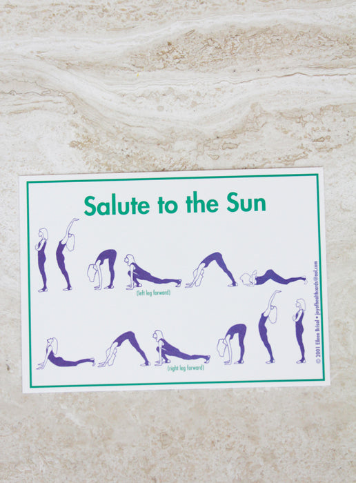 'Salute To The Sun' Postcard