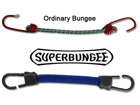 SuperBungee Cords are heavy duty bungees and the best bungee cords for more uses everywhere!