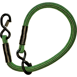 "24 inch SuperBungee Pro-Grade Cord (38"" incl hooks) - Stretches 500% to 134 inches (over 11 Feet)"