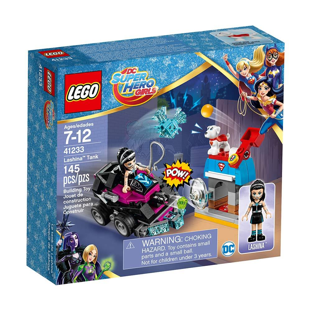 lego® super heroes girls tanque de lashina