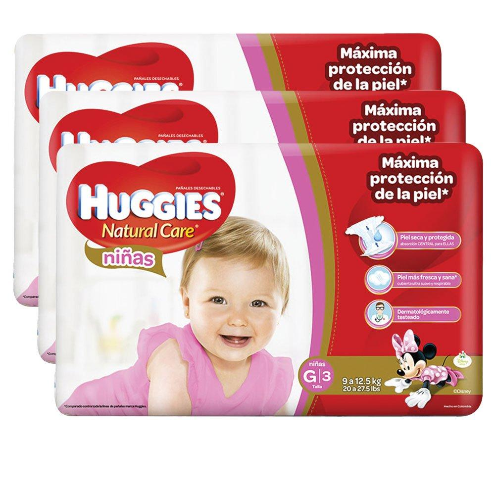 etapa 3   114 panales huggies natural care   ninas