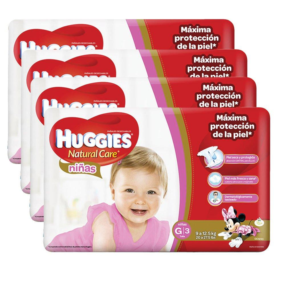 etapa 3   152 panales huggies natural care   ninas