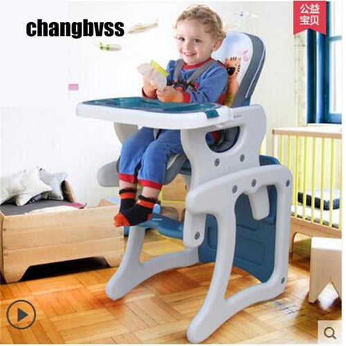 Multifunctional 4 in 1 high chair