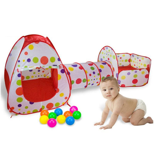 3 In 1 children Ball Pool, and  Tunnel Play House