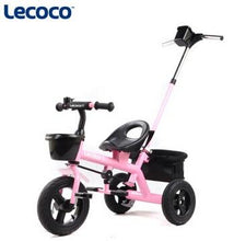 Load image into Gallery viewer, Lecoco child tricycle bike  baby stroller