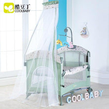 Load image into Gallery viewer, Coolbaby Foldable crib