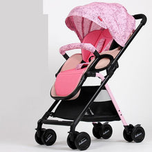 Load image into Gallery viewer, High Landscape Baby Strollers 5.9kg Light Portable Baby Car Newborn Baby Carriage Fold Pram Umbrella Cart,Poussette,Kinderwagen