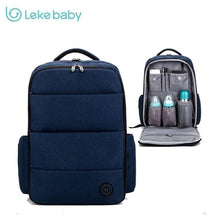 Load image into Gallery viewer, Lekebaby baby travel stroller nappy mummy maternity diapering diaper tote bag backpack for moms daddy baby bags mochila maternal