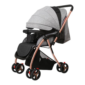 Super Lightweight High Landscape Baby Stroller for Newborns Can Sit Lying Portable Folding Baby Trolley Kids Pushchair carrinho