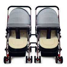 Load image into Gallery viewer, Splittable Twins Baby Stroller 123