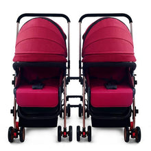 Load image into Gallery viewer, Splittable Twins Baby Stroller