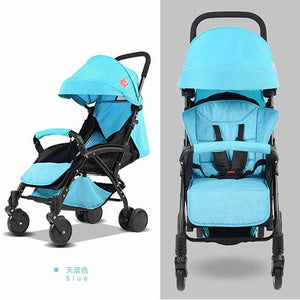 Luxury Travel System Baby Stroller High Landscape Baby Carriage Folding Pram Ultra-light Portable on the Airplane Bebek Arabas