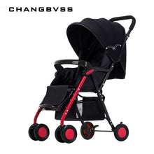 Load image into Gallery viewer, High Landscape Portable Travel Baby Strollers,Super Light Foldable Can Sit & Lie Baby Prams Pushchairs Kinderwagen Child Trolley