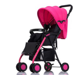 High Landscape Portable Travel Baby Strollers,Super Light Foldable Can Sit & Lie Baby Prams Pushchairs Kinderwagen Child Trolley