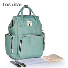 Load image into Gallery viewer, Insular Baby Diaper Backpack Maternity Mommy Changing Bag Baby Stroller Organizer Diaper Backpack