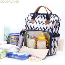 Load image into Gallery viewer, Diaper bag modern