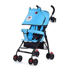 Load image into Gallery viewer, New Pouch Stroller Super Light Portable Travel Baby Stroller carrinho Can Sit Infant Car,Mini Umbrella Cart Pram on the Airplane