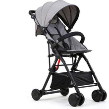Load image into Gallery viewer, New High Landscape Baby Stroller Portable Folding Can Sit Super Light Baby Umbrella Carriage Travel Prams Kinderwagen carrinho
