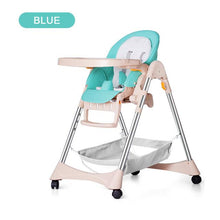 Load image into Gallery viewer, Multifunctional Baby Feeding Table Chair Seat Portable Folding Can Sit Lying Stable Safety Support Baby High Chair Dinner Lunch