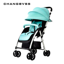 Load image into Gallery viewer, New Summer Super Breathable Baby Stroller Urltra-Light Portable Folding Baby Prams Pushchair Can Sit & Lie Infant Umbrella Cart