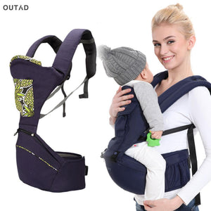 OUTAD Baby Carrier Newborn Infant Front Facing Carrier Kids Kangaroo Hipseat Save Effort Toddler Sling Baby Care 0-36 Months