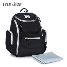 Load image into Gallery viewer, INSULAR Waterproof Nylon Baby Diaper Backpack Mommy Maternity Nappy Changing Bag Nursing Mother Bags Mum Stroller Bag For Baby