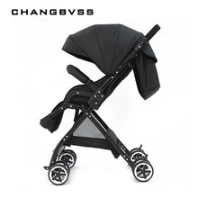 Load image into Gallery viewer, New Arrival!! High Landscape Baby Stroller Folding Can Sit Lie Pram Ultra-light Portable on the Airplane Baby Carriages carrinho
