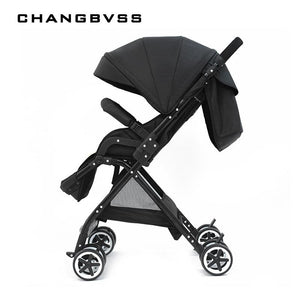 New Arrival!! High Landscape Baby Stroller Folding Can Sit Lie Pram Ultra-light Portable on the Airplane Baby Carriages carrinho