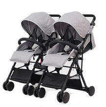 Load image into Gallery viewer, Separable Twins Baby Stroller