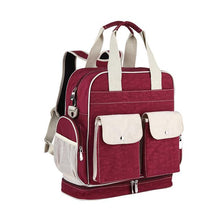 Load image into Gallery viewer, INSULAR Diaper Bag Baby Nappy Changing Bags Large Capacity Maternity Mummy Diaper Backpack Stroller Bag