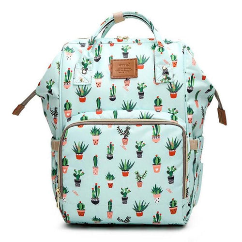 Cactus Animal Diaper Bag