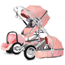 Load image into Gallery viewer, Luxury Multi function Trolley Baby Stroller 3 in 1 High Landscape Baby Carriage Seat and Sleeping Prams For Newborn poussette