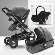 Load image into Gallery viewer, 3 In 1 Baby Stroller landscape