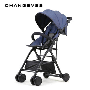 New High Landscape Baby Stroller Portable Folding Can Sit Super Light Baby Umbrella Carriage Travel Prams Kinderwagen carrinho